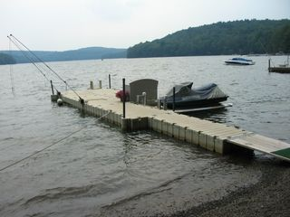 Lake Wallenpaupack house photo - new ez dock