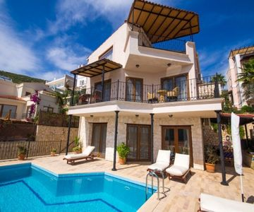 Luxury Summer Villa For 6ppl At 500mt To The Beach In Kalamar, Kalkan