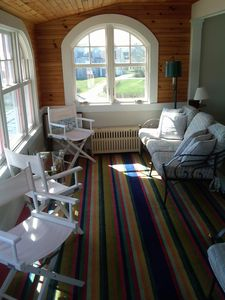 Sun Room - watch the Lobster Boats in the morning or take a Nap in the afternoon
