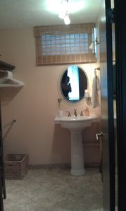 Second Pedestal Sink in Master Bathroom/Dressing Room