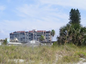 View of community from beach.