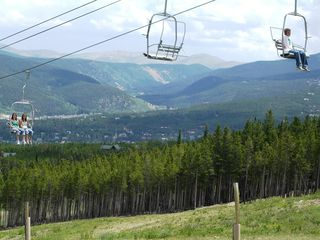 Breckenridge house photo - The chairlift at Peak 8 runs in the summer as well as winter