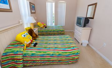 Sponge Bob room for the kids!