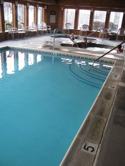 Indoor pool, 2 hot tubs and a sauna - Gatlinburg condo vacation rental photo
