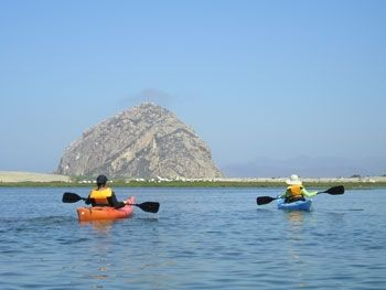 Kayaking in Morro Bay...there's truly nothing better!