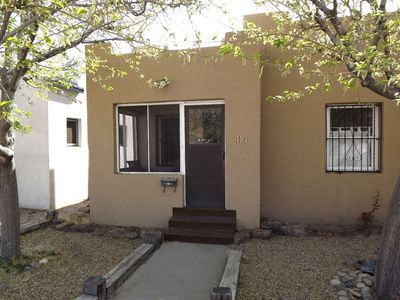 Right Downtown Fully Restored 1926 Adobe Vrbo: home furniture rental albuquerque