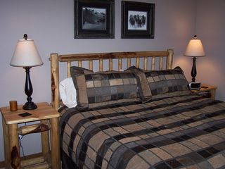 Sunriver house photo - Suite #3: Hitching Post -- King Bed with Private Bath