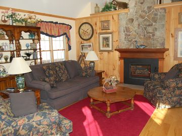 Great Room (Living Area with Gas Fireplace)