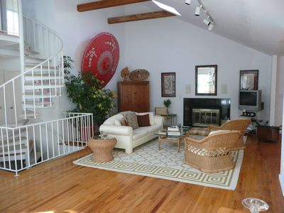 East Hampton house rental - Living 1