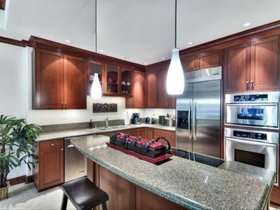 Spacious state of the art kitchen. You will love cooking here!