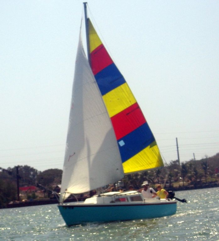 Go sailing on one of our 22' sailboats...
