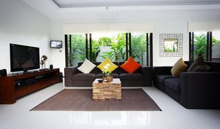 Nai Harn beach villa photo - Living area