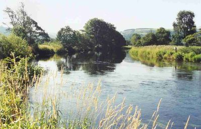 River Dee at Hendwr