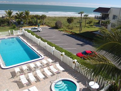 Heated pool, hot tub, right on the beach