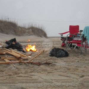 Beach Fires are allowed on Hatteras Island!!