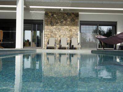 Villa Fisi: Modern, Stylish, Luxury Villa With Large Solar Heated Pool