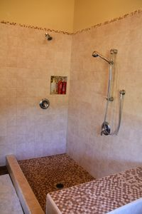 Master Bath Duel Shower