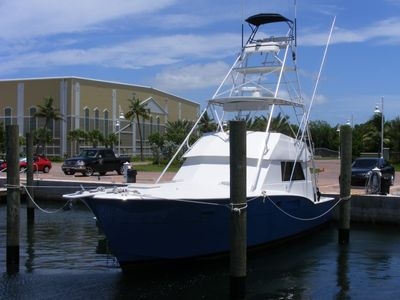 BOW'D UP 42ft Hatteras Sportfish