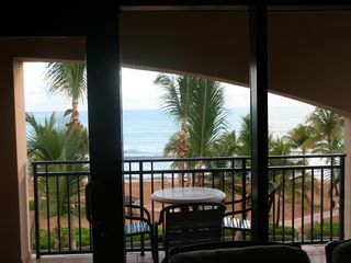 Rio Mar villa photo - View looking out from inside of our our living room, all bedrooms have same view