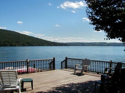 Hammondsport Vacation Rental - VRBO 84781 - 3 BR Keuka Lake House ...