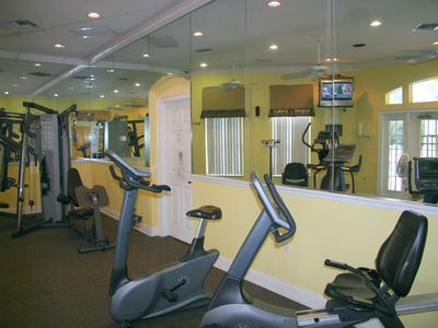 Club house - fitness center