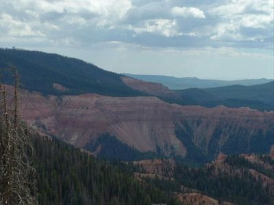 Looking into Cedar Breaks