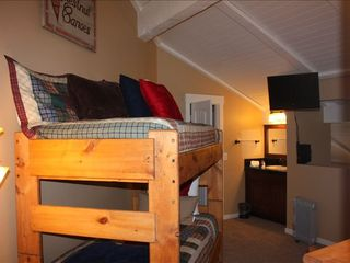 Mammoth Lakes condo photo - .Loft Area with vanity and wall-mounted flat screen