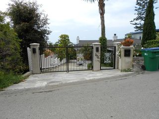 Gated entrance to the home - Laguna Beach house vacation rental photo