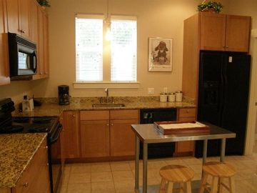 Fully Equipped Kitchen w/ Granite Counters. All Utensils & Cookware