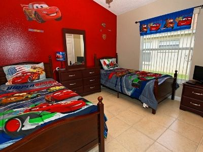Cars themed bedroom