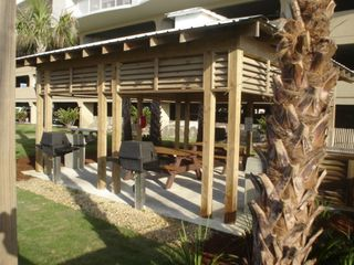 Orange Beach condo photo - Pavilion with Four Gas Grills