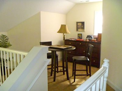 Swannanoa villa rental - Loft game room