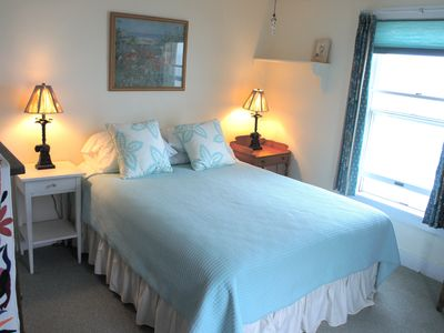 Rye house rental - Ocean front Queen Bedroom