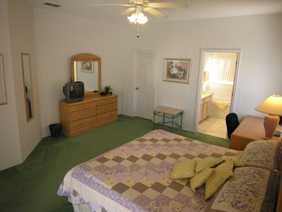 Esprit Estates villa rental - Large master bedroom is en-suite