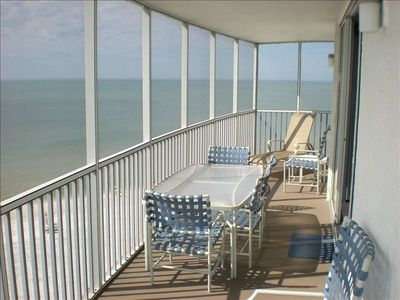 Siesta Key condo rental - 30-Foot Lanai Overlooking Gulf of Mexico
