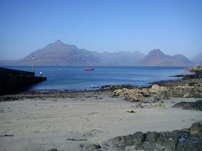 Cuillins fron Jetty at Elgol, Isle of Skye