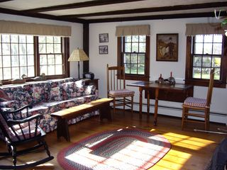 Block Island house photo - one of 2 living rooms. This one with breakfast table