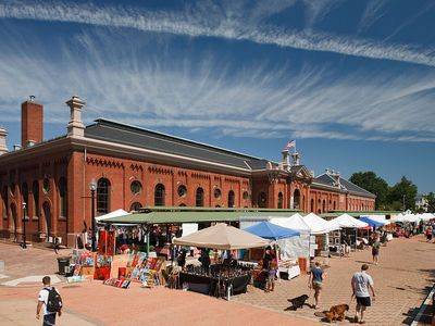 Eastern Market and the open-air farmers market that is open on weekends.