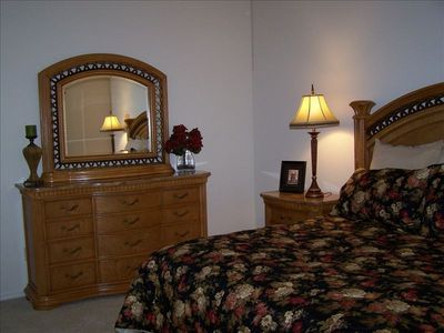 Master suite - full dresser. Also has huge walk-in closet.