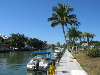 Sanibel Island condo photo - Boat docks available for a small rental fee