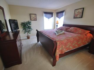Terra Verde villa photo - Second Master Bedroom with King SIze Bed