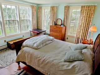 Chilmark house photo - Bedroom #2 - Queen Bed. Shared Full Bath With Tub/Shower