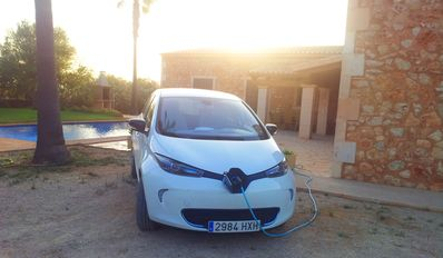 C'an Mates Nou, possibility to rent electric car, Wi-Fi free internet.