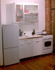 Queens studio photo - Modern Kitchen.