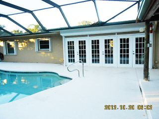 North Naples house photo - Easy access to heated pool