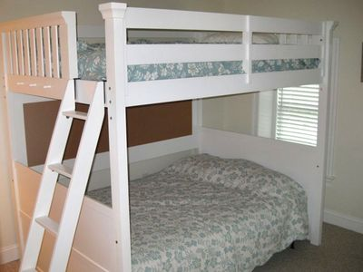 Bedroom #3 - Double Bunk Beds