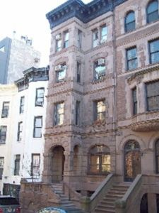Facade of 110 West 81 (and part of 112 West 81)