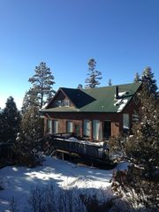 Taos house photo - Another perfect winter afternoon at Las Posadas El Salto