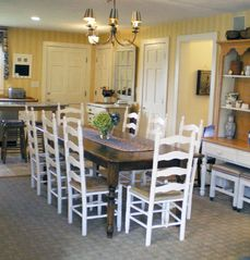 Surfside Nantucket house photo - Dining. Seating for 10+