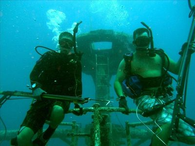 Diving the Artificial Reefs of the Keys, USNS Vandenberg, builds friendship